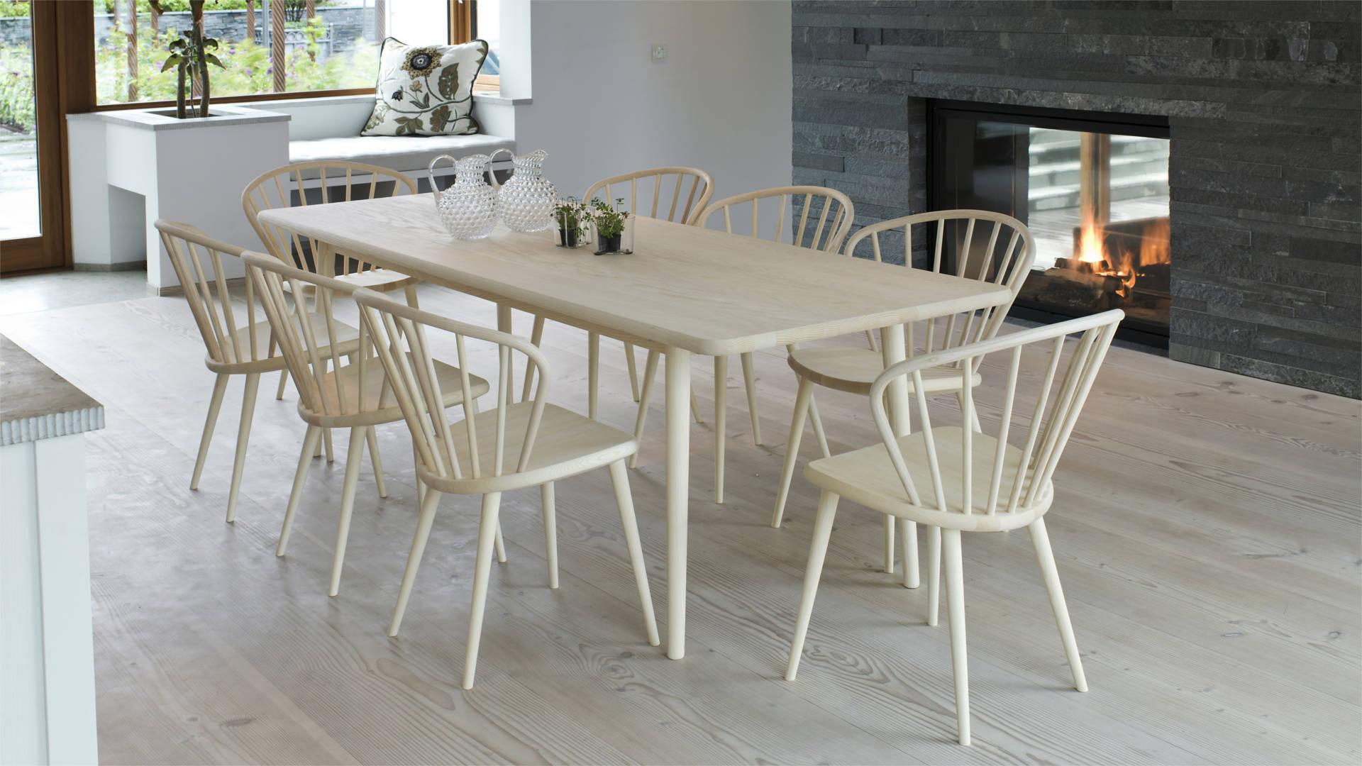 Stolab Vackra designmöbler i massiv Björk eller Ek | Ekerö