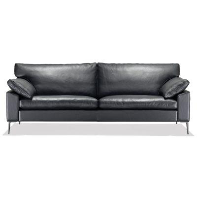 Produktbild på SL 329 i svart läder från Sören Lund