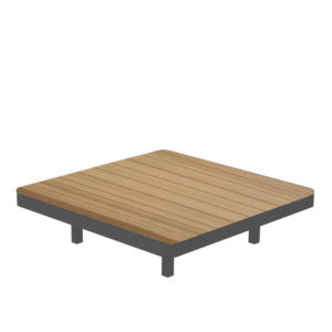 Alura Lounge Teak Table 80