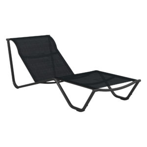 Helio Stacking Lounger with Fixed Back