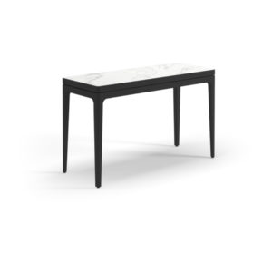 Grid Ceramic Small Console Table