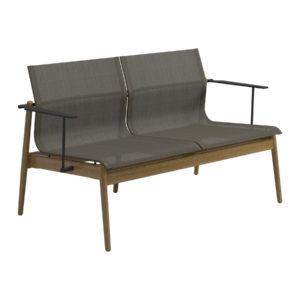 Sway Teak 2-Seater Sofa