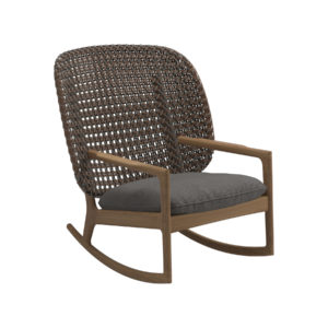 Kay High Back Rocking Chair
