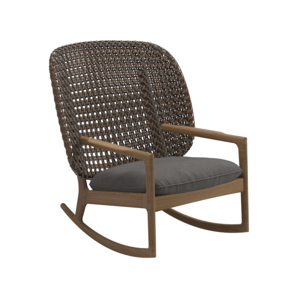 Kay High Back Rocking Chair