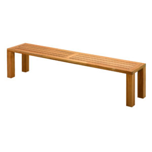 Square Dining Bench Large
