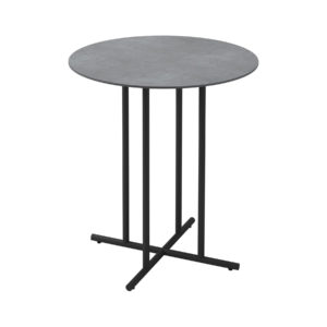 Whirl Ceramic Round Bar Table