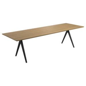 Split Teak Table Large