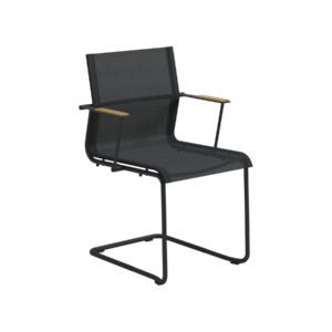 Sway Steel Stacking Chair With Arms