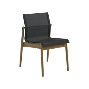 Sway Teak Stacking Chair