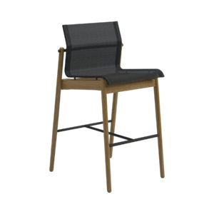 Sway Teak Bar Chair