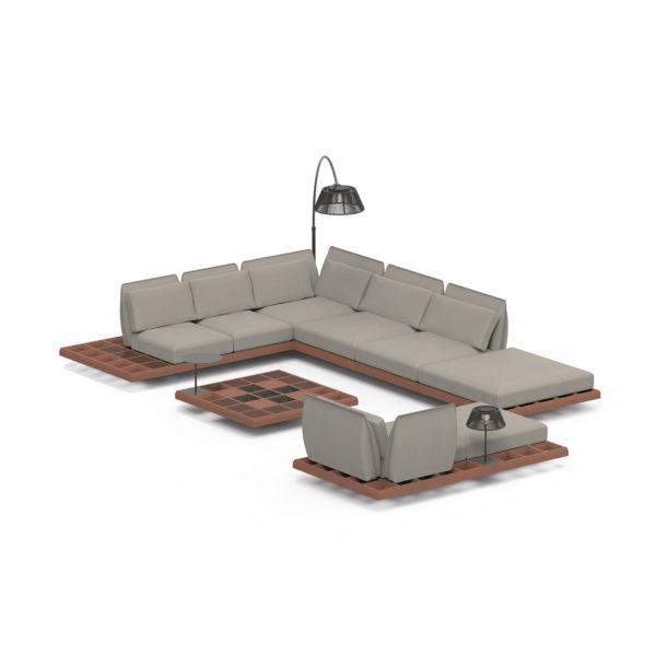 MOZAIX Lounge Set 04