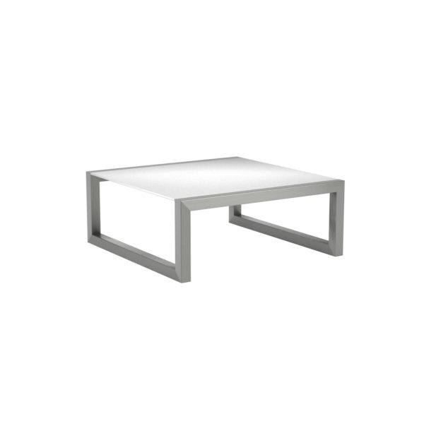 Ninix Glass Low Side Table