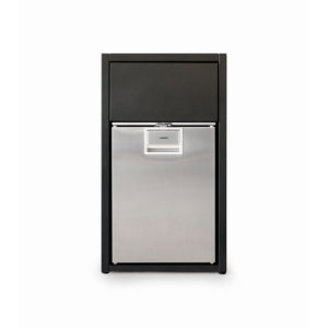Open Kitchen Cabinet for Fridge