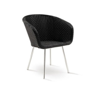 Shell Steel Chair