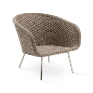 Shell Steel Easy Chair