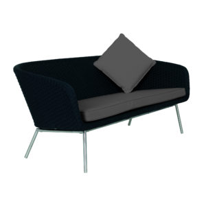 Shell Steel Sofa