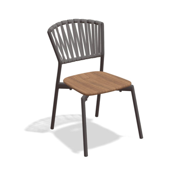 Piper Belt Chair with Teak Seat