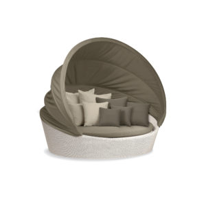 ORBIT XXL Loveseat (Incl. Taupe Canopy)